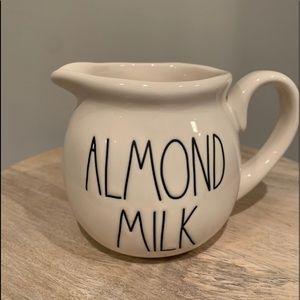 Rae Dunn ALMOND MILK Creamer
